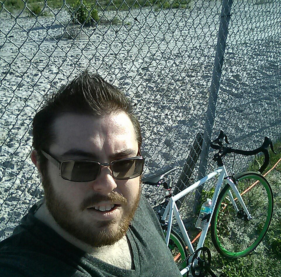 Me with Old Bike