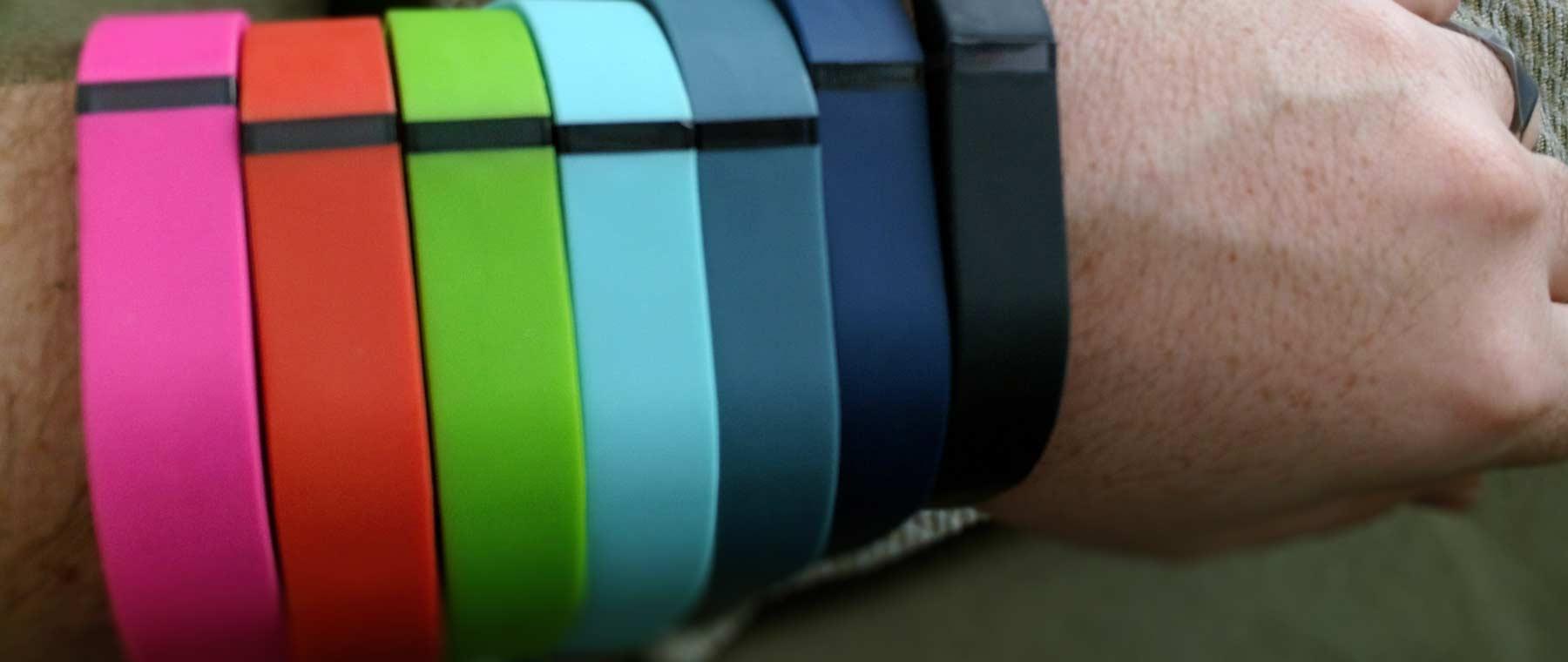 Fitbit Flex color bands